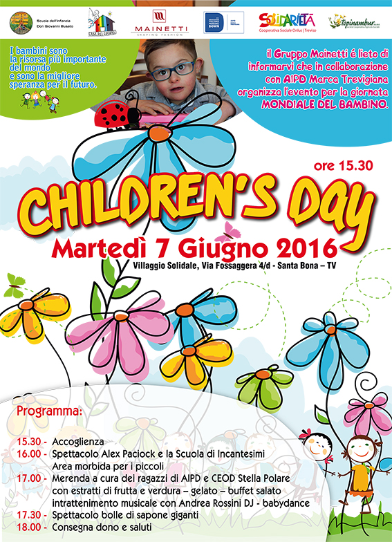 CHILDREN'S DAY POSTER 83x110
